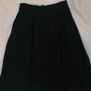 H&M Skirts - Black circle skirt
